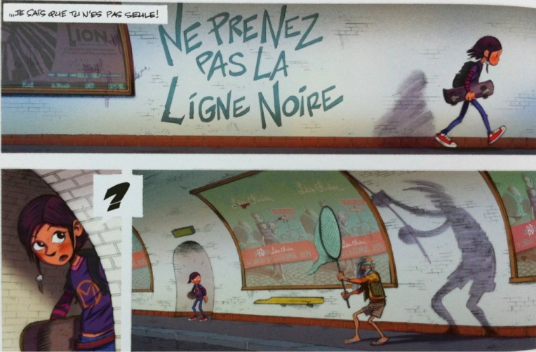 """""""Ninn, Tome 1 La ligne noire"""" de Jean-Michel Darlot et Johan Pilet"""