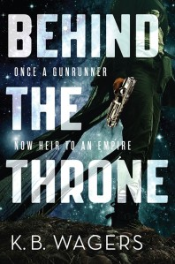 """""""Behind the Throne"""" de K.B. Wagers"""