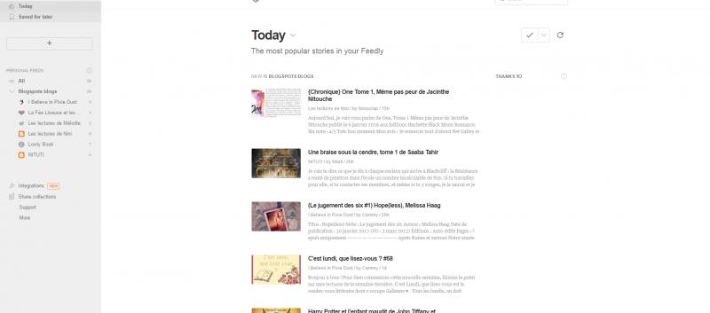 [Tuto pour WordPress] Comment réunir en un seul endroit les publications de vos blogs Blogspots favoris ?